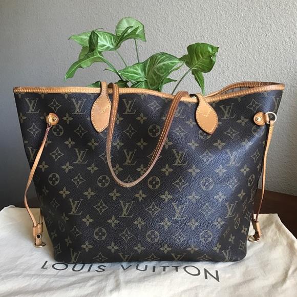201b22bd0e74 Louis Vuitton Handbags - 💕LAST PRICE💕Louis Vuitton Neverfull MM 💕❤️